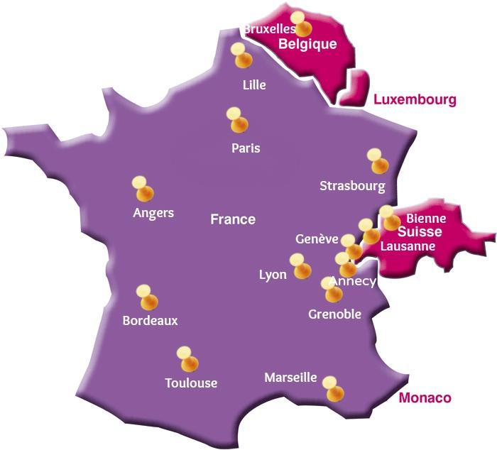 Du Học Pháp và Thụy Sĩ  chi phí thấp