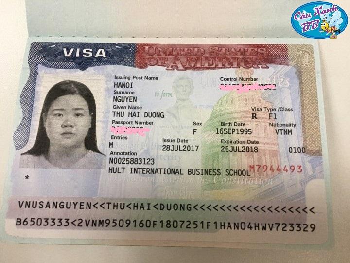 Đậu visa du học Mỹ không khó - Nguyễn Thu Hải Đường đạt visa Mỹ chương trình Thạc sỹ