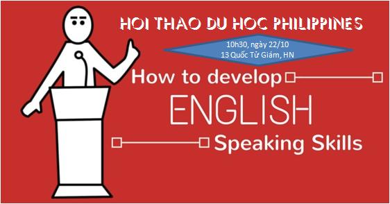 HỘI THẢO DU HỌC PHILIPPINES: Học tiếng anh tại trường Anh ngữ Philinter