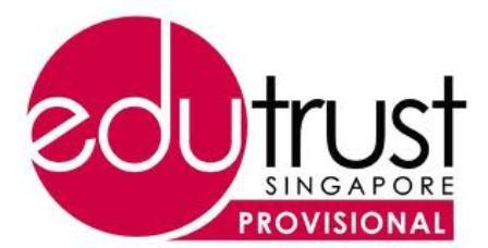 Du học Singapore: CÁC TRƯỜNG ĐẠT CHỨNG NHẬN EDUTRUST