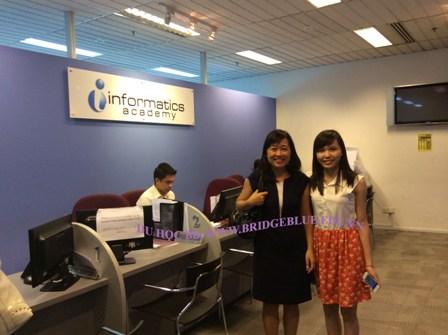 Hội thảo du học Singapore: học viện Informatics