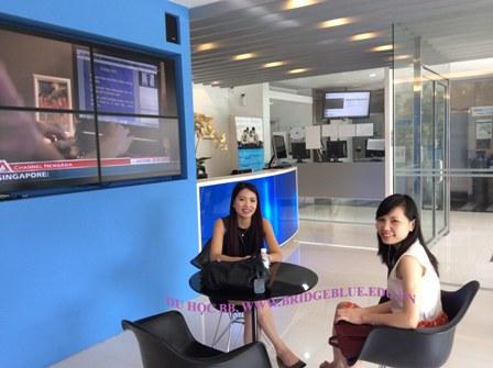 Du học Singapore: Mời thăm Học viện công nghệ thông tin Informatics cùng Cầu Xanh