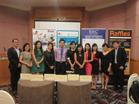 Ngày hội du học Singapore năm 2014 hé lộ xu hướng chọn ngành nghề mới của học sinh - sinh viên hiện nay?