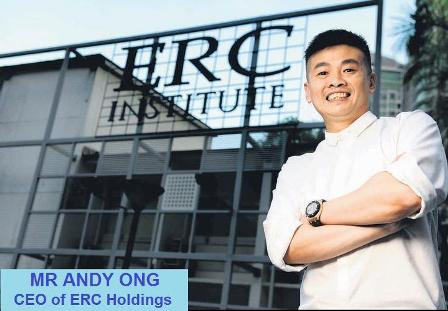 Triệu phú Andy Ong – nhà sáng lập học viện ERC Singapore và những câu chuyện chưa kể