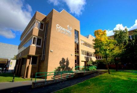 Học bổng du học Anh năm 2018 tại trường Đại học Coventry