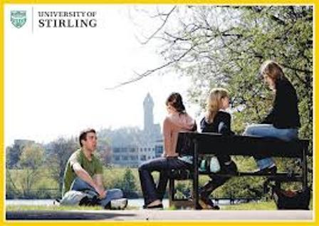 Du học UK: Học bổng du học Anh trường Đại học Stirling.