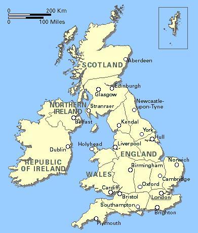 Lịch sử hình thành Vương quốc Anh