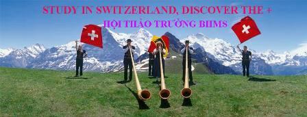 Hội thảo du học Thụy Sĩ, trường BHMS: DISCOVER THE +