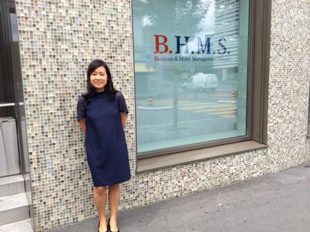 Hội thảo du học Thụy Sĩ, trường BHMS