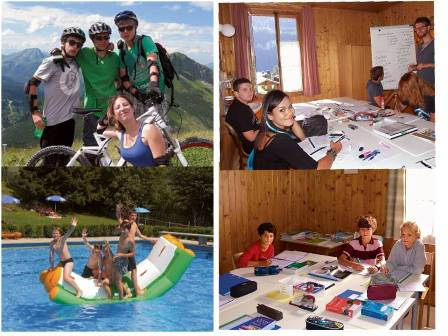 Học và khám phá hè và đông tại Thuỵ Sỹ