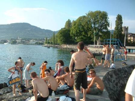 Du học Thụy Sĩ cần biết: Montreux phải chăng là thành phố ma quái?