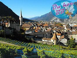 Chur : thành phố cổ nhất và mang đậm bản sắc truyền thống nhất của Thụy Sĩ