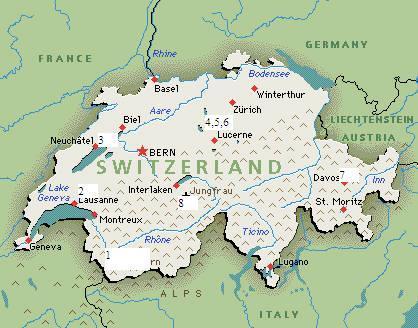 Những thông tin thực tế về Thụy Sĩ