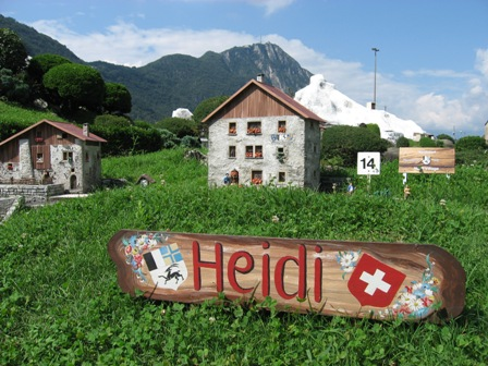 """""""Heidi"""" - hành trang không thể thiếu khi tới Thụy Sĩ."""