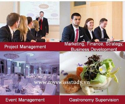 Swiss School of Tourism and Hospitality – SSTH, Trường Thụy Sĩ về Du lịch khách sạn.
